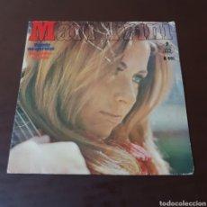 Discos de vinilo: MAR TRINI - CUANDO ME ACARICIAS - UN HOMBRE MARCHO. Lote 221574816
