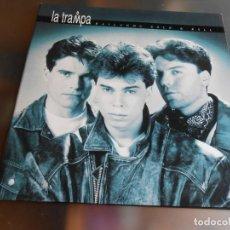 Discos de vinilo: LA TRAMPA - BAILANDO ROCK & ROLL -, LP, NO TE RINDAS + 9, AÑO 1992. Lote 221574860