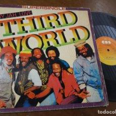 Discos de vinilo: THIRD WORLD - TRY JAH LOVE - MAXI-ESPAÑA- 1982. Lote 221575882