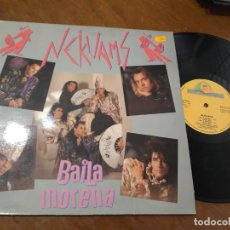 Discos de vinilo: NEKUANS - BAILA MORENA MAXI -ESPAÑA-1990. Lote 221576452