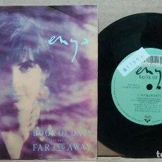 Discos de vinilo: ENYA / BOOK OF DAYS / SINGLE 7 INCH. Lote 221578292
