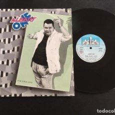 "Discos de vinilo: ALBERT ONE FOR YOUR LOVE - EXTENDED 12"" ITALO DISCO ITALY. Lote 221580565"