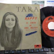 Discos de vinilo: TARA SINGLE HAPPY 1970. Lote 221581376