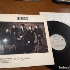Discos de vinilo: LOS REBELDES - EN CUERPO Y ALMA - LP - EPIC 1990 SPAIN EPC466577 - CON LETRAS. Lote 221581565