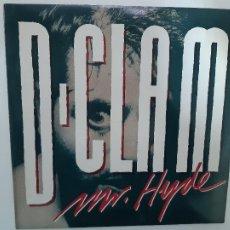 Discos de vinilo: D-CLAM - MR. HYDE - LP 1988 + 2 ENCARTES- VINILO COMO NUEVO.. Lote 221581665