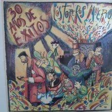 Discos de vinilo: TOREROS MUERTOS- 30 AÑOS DE EXITOS - LP 1986- VINILO COMO NUEVO.. Lote 221582060