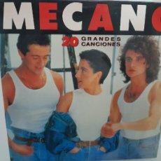 Discos de vinilo: MECANO- 20 GRANDES CANCIONES - 2 LP 1989 - VINILOS COMO NUEVOS.. Lote 221582503