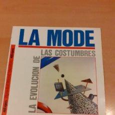 Discos de vinilo: DISCO VINILO LA MODE - LA EVOLUCIÓN DE LAS COSTUMBRES- LEER ESTADO - VER FOTOS. Lote 221582967