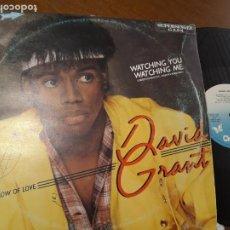 Discos de vinilo: DAVID GRANT - WATCHING YOU, WATCHING ME - MAXI -ESPAÑA-1983-. Lote 221583043