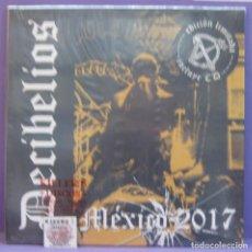 Discos de vinilo: DECIBELIOS - MÉXICO 2017 - LP+ CD PRECINTADO. Lote 221585840