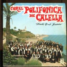 Discos de vinilo: CORAL POLIFÓNICA DE CALELLA. DIR. EMILI GUERRERO. CONCENTRIC 1972. RARO. Lote 221585920