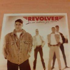 Discos de vinilo: DISCO VINILO REVOLVER - LP SI NO HUBIERA QUE CORRER- LEER - BUEN ESTADO- VER FOTOS. Lote 221585968