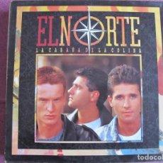 Discos de vinilo: LP - EL NORTE - LA CABAÑA DE LA COLINA (SPAIN, CBS 1988, CONTIENE ENCARTE). Lote 221588480
