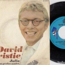Discos de vinilo: DAVID CHRISTIE - JULIA - SINGLE DE VINILO EDICION ESPAÑOLA. Lote 221589112