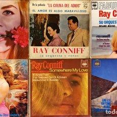 Discos de vinilo: LOTE 7 SINGLES & EP RAY CONNIFF. Lote 221590122