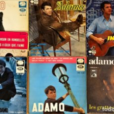 Discos de vinilo: LOTE 7 EP'S ADAMO. Lote 221590330