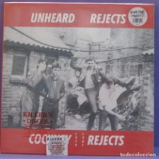 Discos de vinilo: COCKNEY REJECTS - UNHEARD REJECTS 1979-1981 - LP PRECINTADO. Lote 221593076