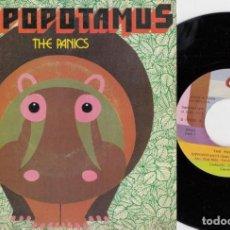 Discos de vinilo: THE PANICS - HIPOPOTAMUS - SINGLE DE VINILO EDICION ESPAÑOLA. Lote 221593277