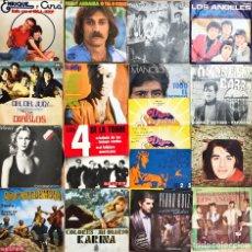 Discos de vinilo: LOTE 36 SINGLES NACIONAL VARIADO. Lote 221593867