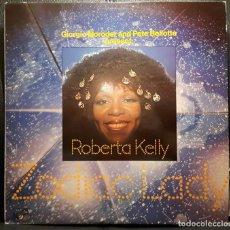 Discos de vinilo: ROBERTA KELLY - ZODIAC LADY - LP - ESPAÑA - ZAFIRO - 1977 - GIORGIO MORODER - NO USO CORREOS. Lote 221595201