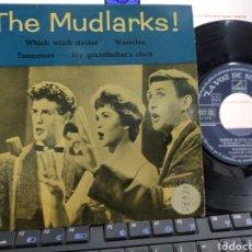 Discos de vinilo: THE MUDLARKS! EP WHICH WITCH DOCTOR + 3 ESPAÑA 1960. Lote 221601285