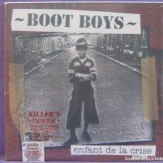 Discos de vinilo: BOOT BOYS - ENFANT DE LA CRISE - LP PRECINTADO. Lote 221602165