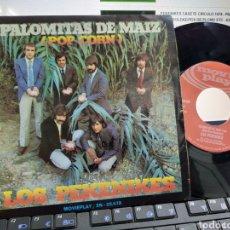 Discos de vinilo: PEKENIKES SINGLE PALOMITAS DE MAÍZ 1972. Lote 221604305