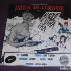Discos de vinilo: FATIGA DE COMBATE – ATAQUE DE OTRA ERA MINI LP UNDERDOG 1992 - PSYCHOBILLY 90'S - SIN USO. Lote 221606877