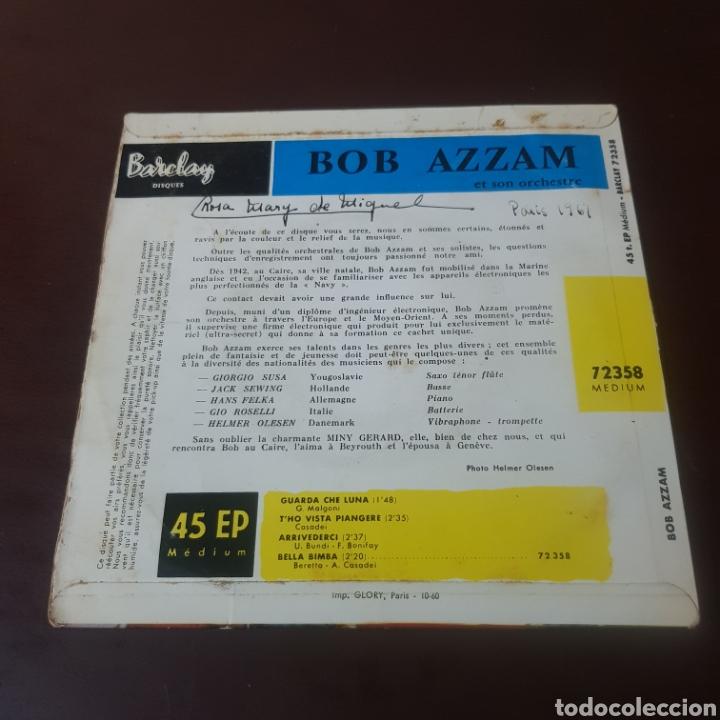 Discos de vinilo: BOB AZZAN ET SON ORCHESTRE - Foto 2 - 221608246