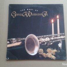 Discos de vinilo: GROVER WASHINGTON JR. - THE BEST OF GROVER WASHINGTON JR DOBLE LP 1993. Lote 221608347