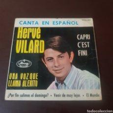 Discos de vinilo: HERVE VILARD CANTA EN ESPAÑOL. Lote 221610485