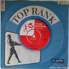 Discos de vinilo: THE APPLEJACKS. LOVE SCENE/ CIRCLE DANCE. TOP RANK. UK 1959 SINGLE. Lote 221615630