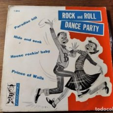 Discos de vinilo: LOS ROCKERS DE ARIZONA - ROCK AND ROLL PARTY ********** RARO EP ESPAÑOL 1961. Lote 221620917
