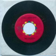 Discos de vinilo: BUD DASHIELL & THE KINGSMEN. EL PRESO NUMERO NUEVE/ ALMA LLANERA. WB, GERMANY SINGLE. Lote 221621436