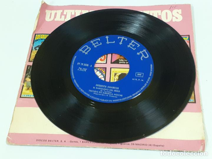 Discos de vinilo: ORQUESTA AMANECER (3421) - Foto 3 - 221621516