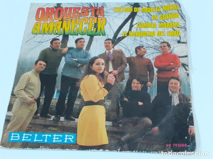 ORQUESTA AMANECER (3421) (Música - Discos - Singles Vinilo - Orquestas)
