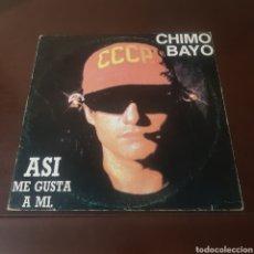 Discos de vinilo: CHIMO BAYO - ASI ME GUSTA A MI. Lote 221621695
