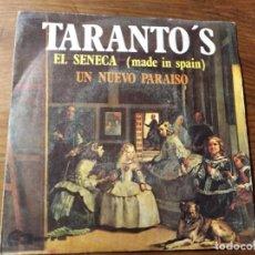 Discos de vinilo: TARANTO'S - EL SÉNECA ********** RARO SINGLE PEKENIKES 1969. Lote 221621717