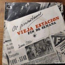 Discos de vinilo: LONE STAR - VIEJA ESTACIÓN ********** RARO SINGLE 1968. Lote 221621817