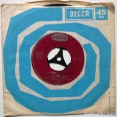 Discos de vinilo: GERD BOTTCHER & DETLEF ENGEL. UBER DIE PRARIE/ OH BILLY BILLY BLACK. DECCA, GERMANY 1961 SINGLE. Lote 221622465