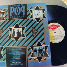 Discos de vinilo: LO MEJOR DEL POP NACIONAL-LP 1986-BUEN ESTADO. Lote 221624696