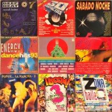 Discos de vinilo: LOTE 9 RECOPILATORIOS DOBLES VARIADOS. Lote 221627277