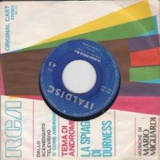 """Discos de vinilo: 45 GIRI MINA LE MILLE BOLLE BLU""""/CHE FREDDO VIANELLO NO COVER ITALDISC. Lote 221632127"""