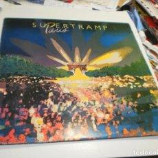 Discos de vinilo: LP DOBLE SUPERTRAMP. PARÍS. AM RECORDS 1985 SPAIN CARPETA DOBLE Y FUNDAS INTERIORRES (PROBADO, BIEN). Lote 221632472