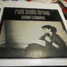 Discos de vinilo: LP PATTI SMITH. RADIO ETHIOPIA. ARISTA RECORDS 1976 SPAIN (PROBADO Y BIEN). Lote 221633090
