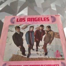 Discos de vinilo: SINGLE. LOS ANGELES. ESCAPATE. Lote 221633513