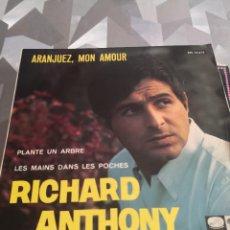 Discos de vinilo: SINGLE. RICHARD ANTHONY. Lote 221633523