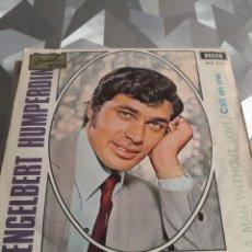 Discos de vinilo: SINGLE. ENGELBERT HUMPERGING. Lote 221633556