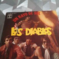 Discos de vinilo: SINGLE. LOS DIABLOS. Lote 221633661