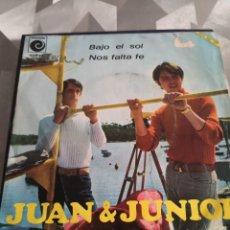 Discos de vinilo: SINGLE. JUAN Y JUNIOR. Lote 221633886
